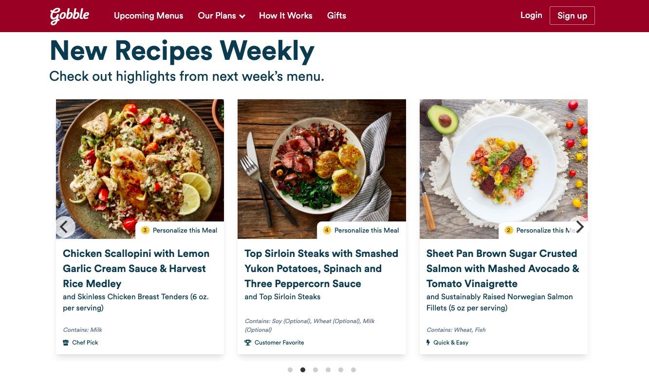 Gobble new recipes
