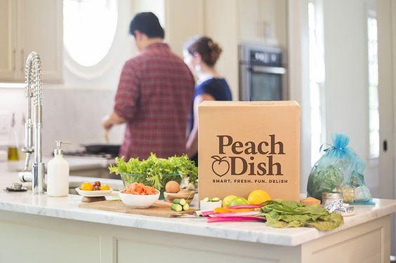 Peach Dish home page