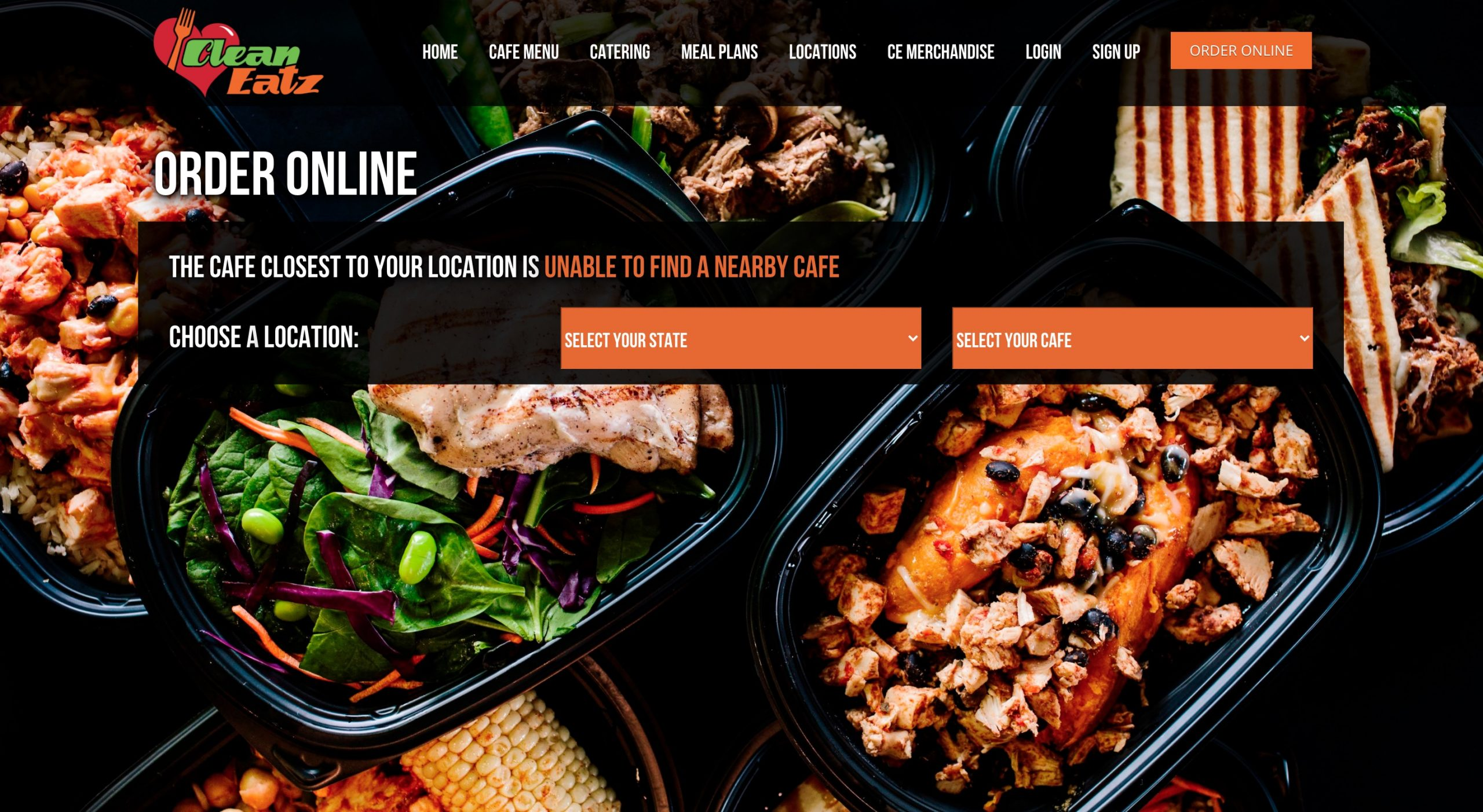 Clean Eatz online order