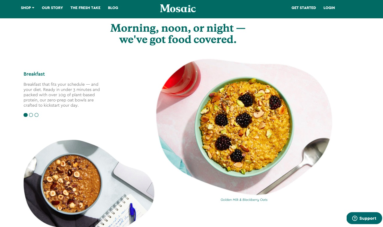 Mosaic meals