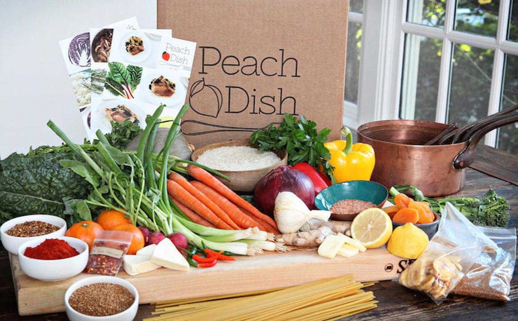 Peach Dish page